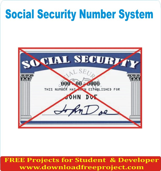 Free Social Security Number In Asp.Net Projects Download