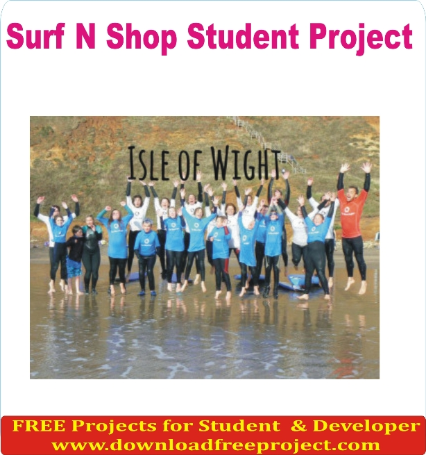 Free Surf And Shop Project In PHP Projects Download