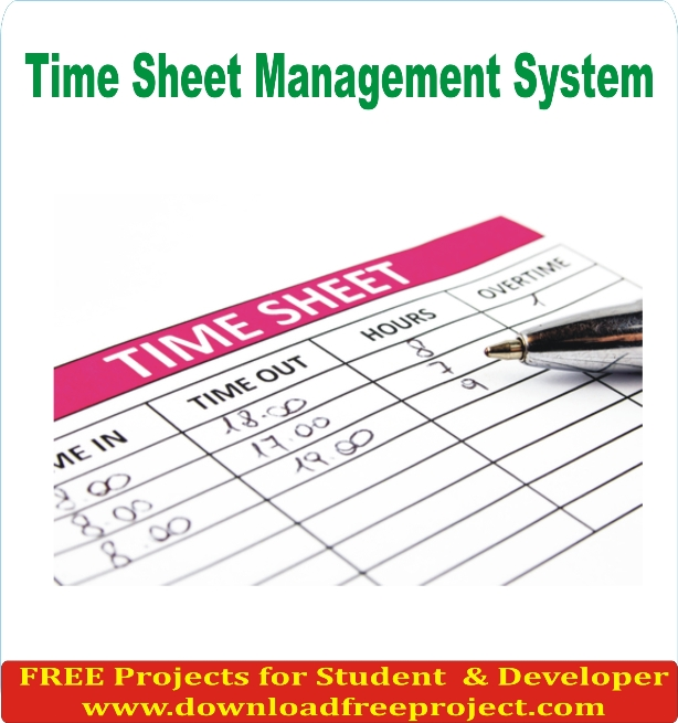 Free Time sheet In PHP Projects Download