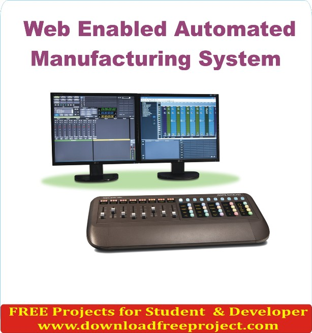 Free Web Enabled Automated Manufacturing Project In Java Projects Download