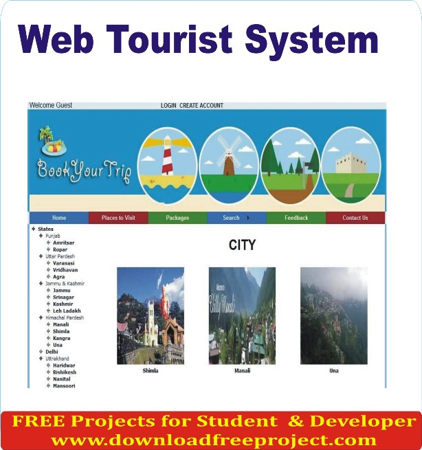 Free Web Tourist System In Asp.Net Projects Download
