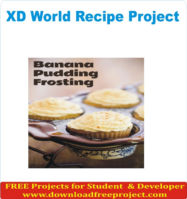 Free XD World Recipe In Java Projects Download