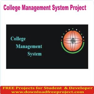 Free Collage Portal Project In PHP Projects Download
