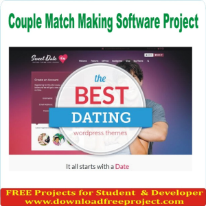 Couple Match Making Software Project