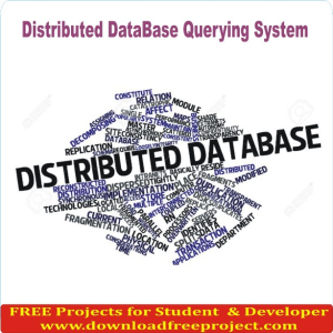 Distributed DataBase Querying System