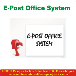 E Post Office System