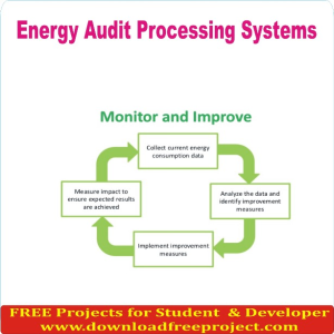 Energy audit processing systems