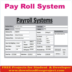 Pay Roll System
