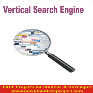 Vertical Search Engine